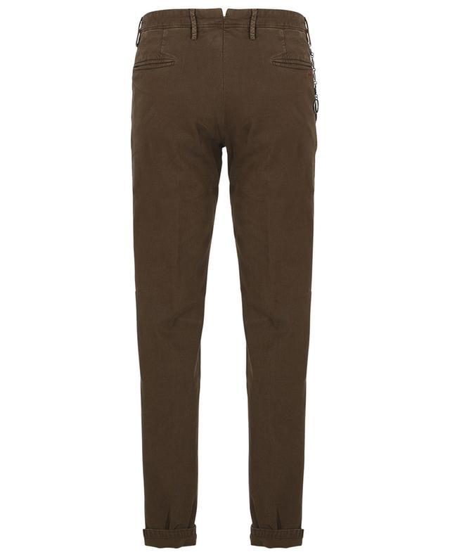 Pantalon slim en coton effet piqué Gillsans Worn Out PT TORINO