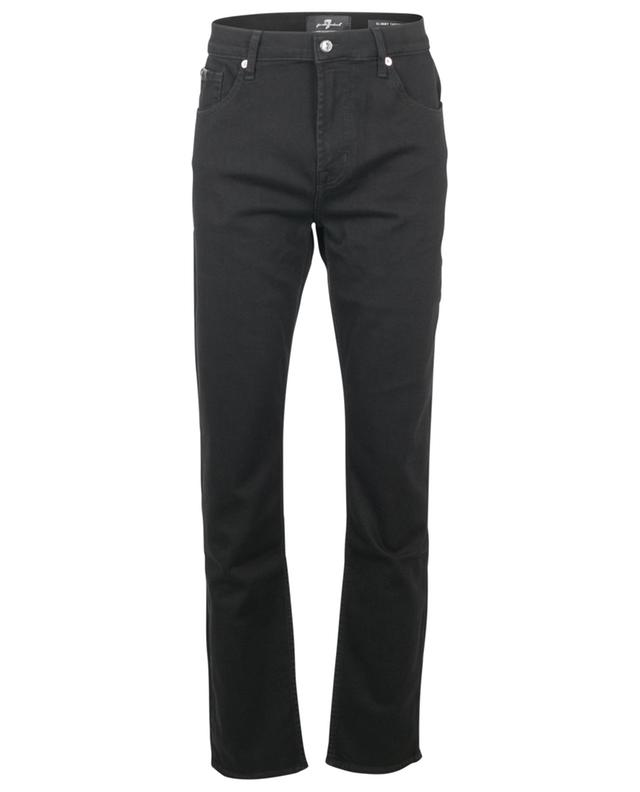 Slimmy Tapered Special Edition Luxe Performance Rinse Black jeans 7 FOR ALL MANKIND
