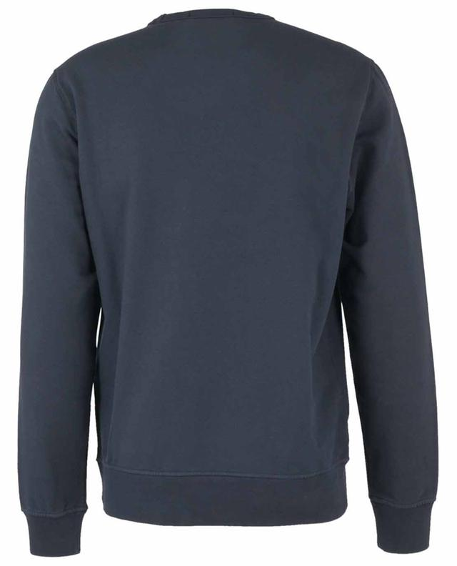 Sweat-shirt à col rond patch poitrine rose des vents STONE ISLAND