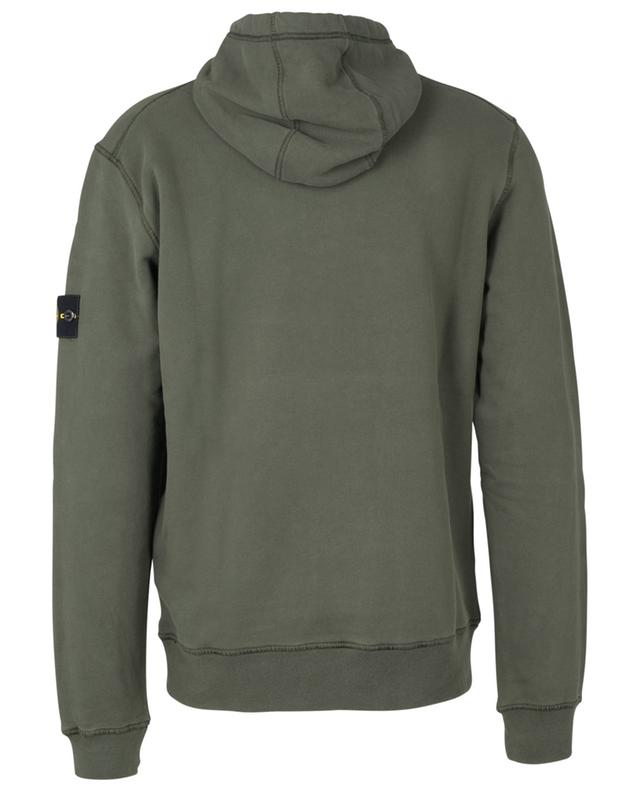 Sweat-shirt à capuche en coton 64120 STONE ISLAND