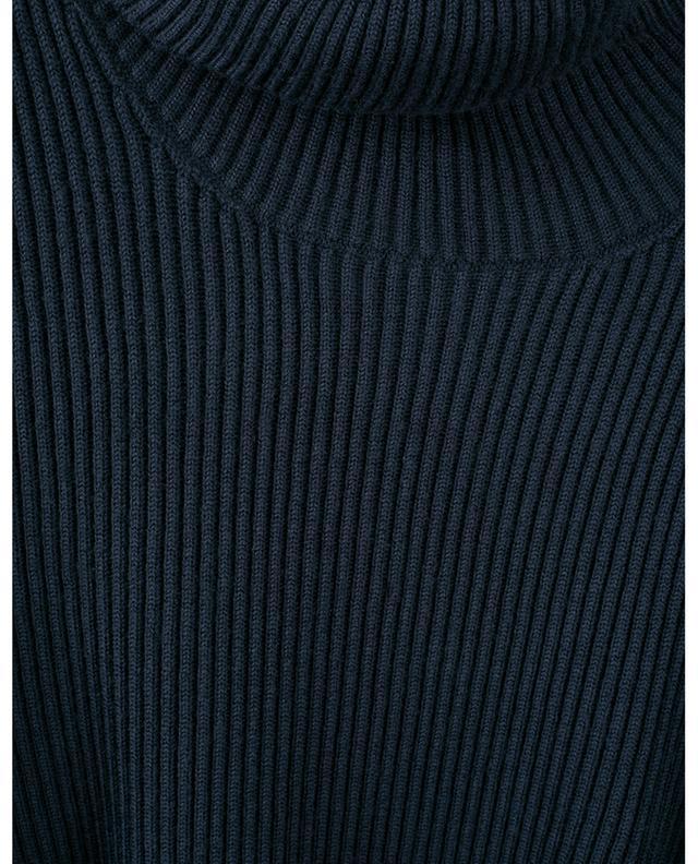 Pull en laine côtelée à col roulé 522C2 STONE ISLAND