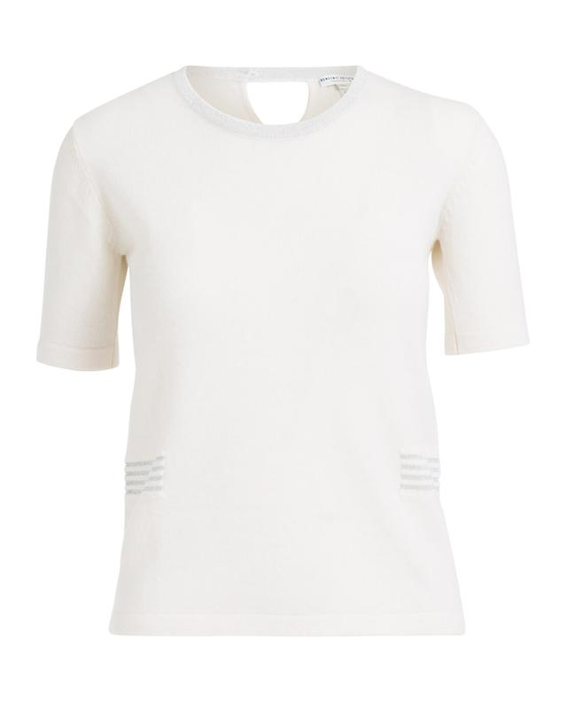 Cashmere short-sleeved jumper BONGENIE GRIEDER