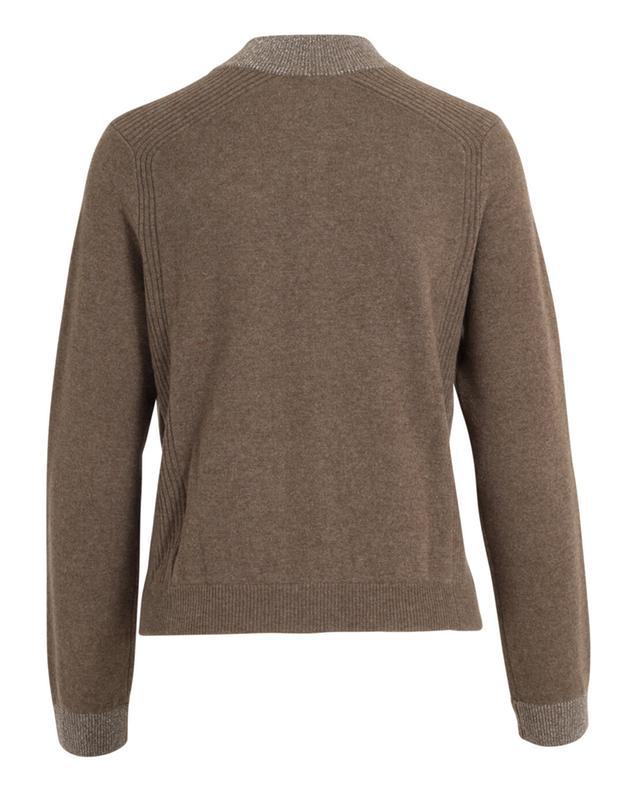 Zipped cashmere cardigan BONGENIE GRIEDER