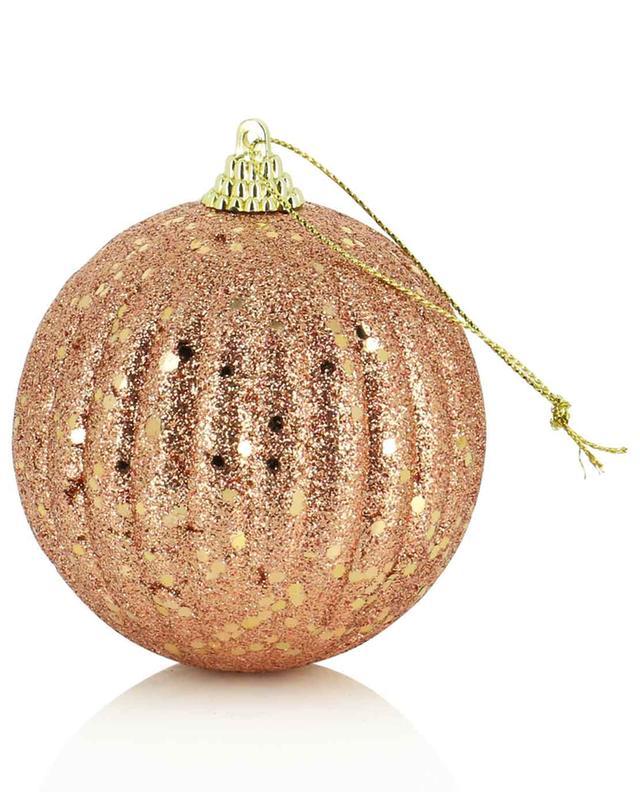 Boule de Noël cuivrée et or KAEMINGK
