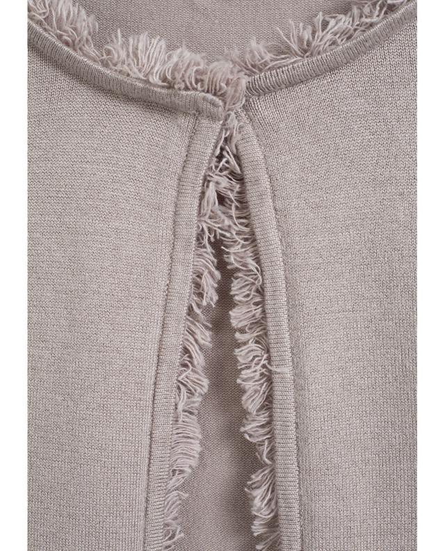 Viscose blend long cardigan BONGENIE GRIEDER