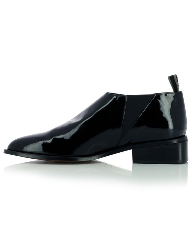 Low boots en cuir verni Xever CLERGERIE