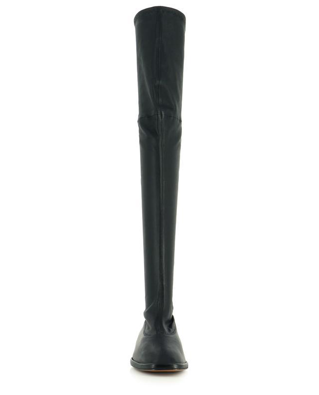Flache Stiefel aus Stretch-Lammleder Orelie CLERGERIE