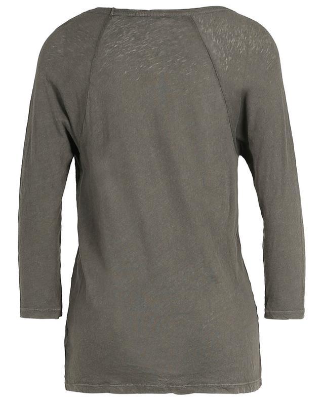 T-shirt en jersey flammé à longues manches raglan JAMES PERSE