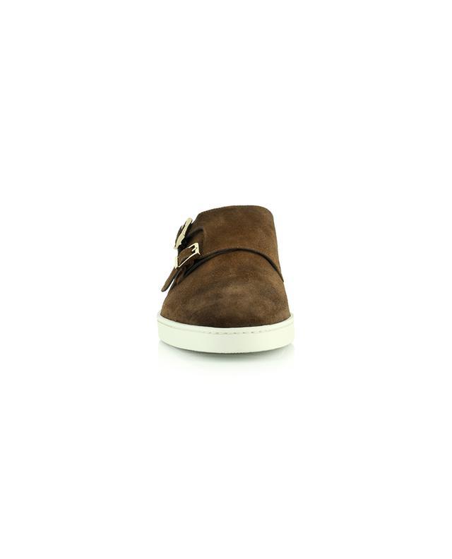 Chaussures à boucles en daim SANTONI