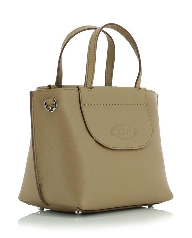 Sac cabas en cuir grainé Shopping Mini TOD'S