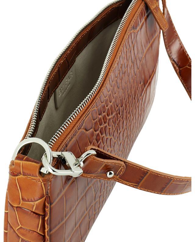Sac porté épaule en cuir effet croco Rachel Tan BY FAR