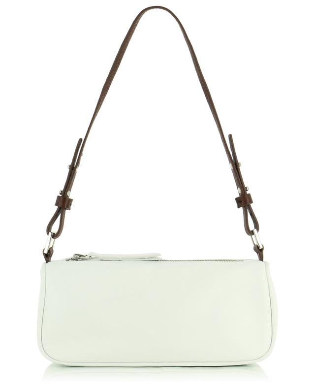 Sac porté épaule en cuir nappa Eve White BY FAR