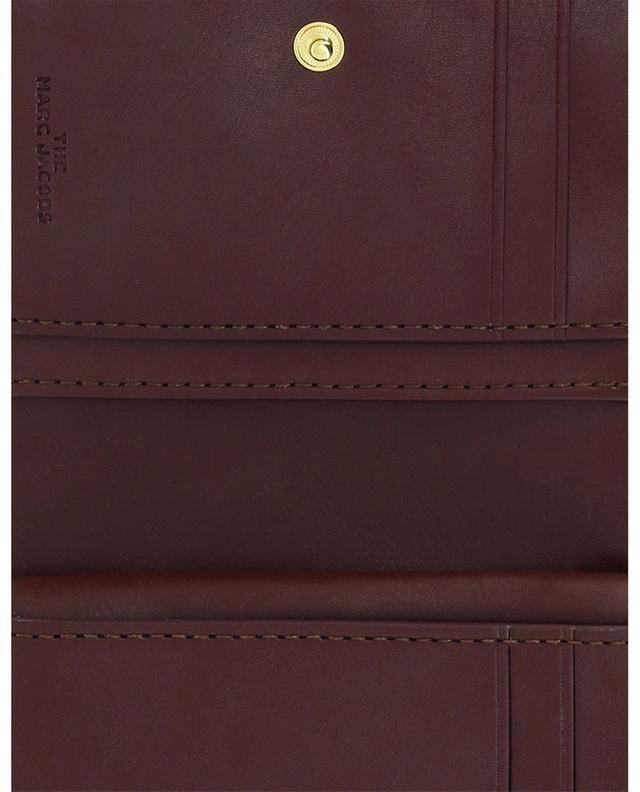Kleine Brieftasche aus gestepptem Leder The Softshot MARC JACOBS