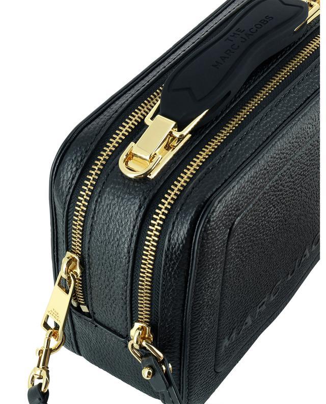 Sac à main en cuir texturé The Mini Box Bag MARC JACOBS