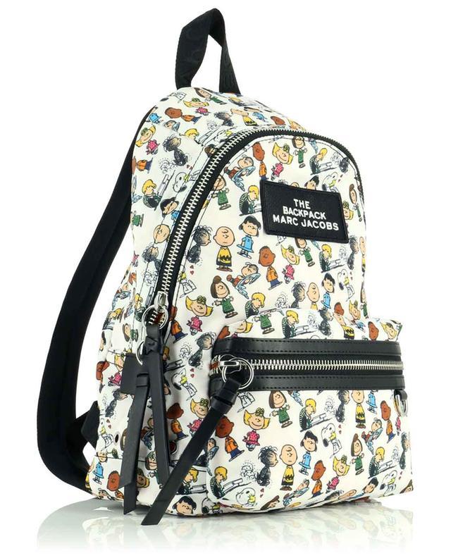 Sac à dos en nylon imprimé Peanuts x The Medium Backpack MARC JACOBS