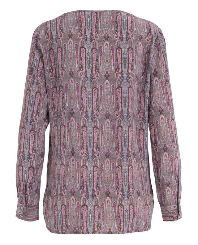 Printed silk blouse CAMICETTASNOB