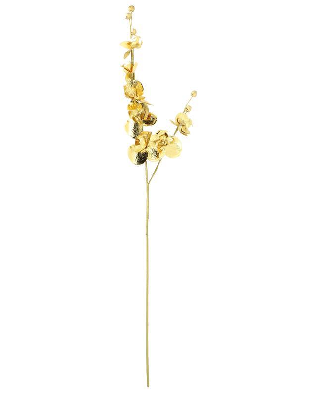 Branche d'orchidée dorée GOODWILL