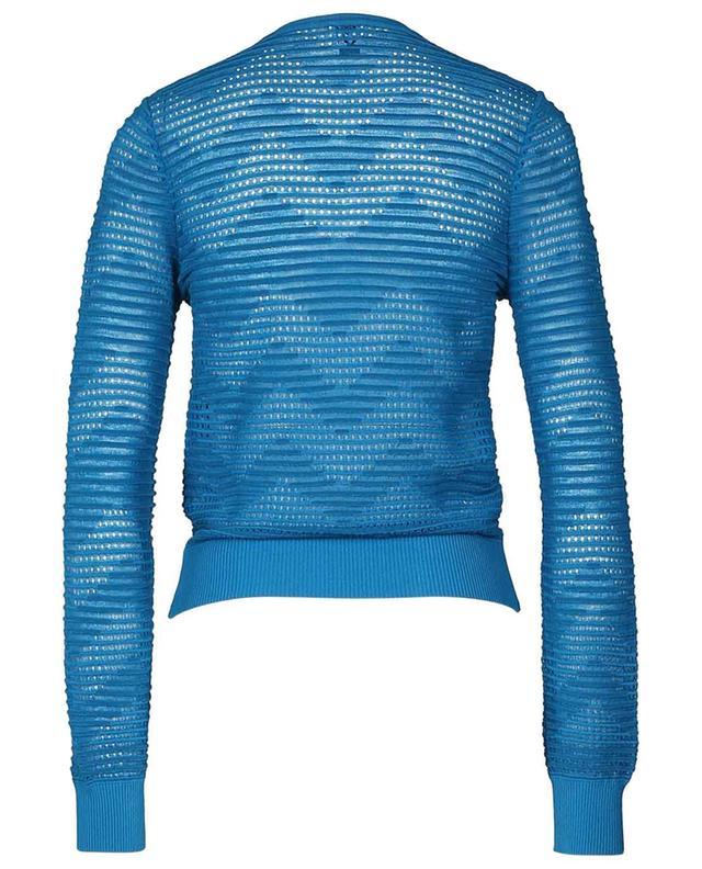 Geknöpfter Viskosemix-Pullover M MISSONI