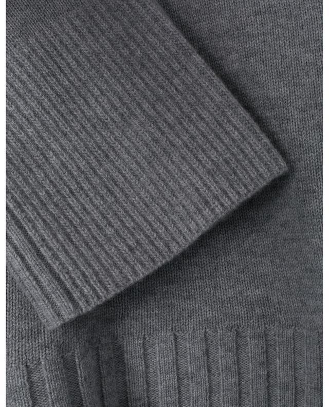 Pull en laine vierge et cachemire avec col roulé amovible DECONSTRUCTED DOROTHEE SCHUMACHER