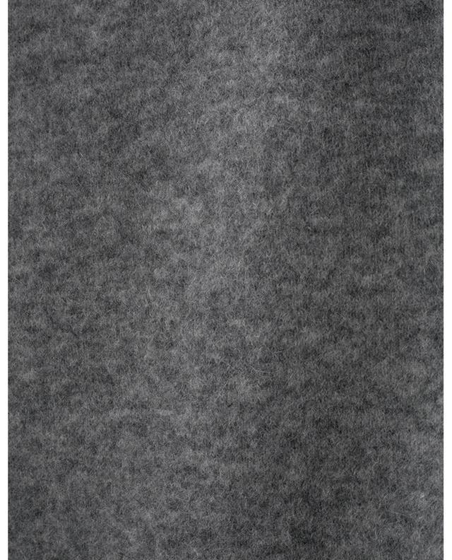 SOFT FLASH mid-length alpaca and wool blend skirt DOROTHEE SCHUMACHER