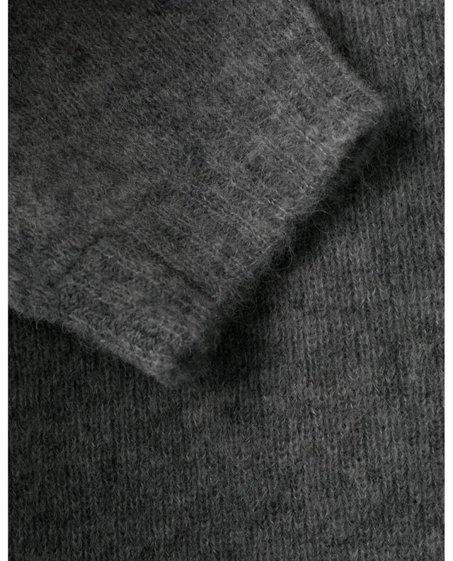Pull à manches courtes en alpaga et laine mélangées SOFT FLASH DOROTHEE SCHUMACHER