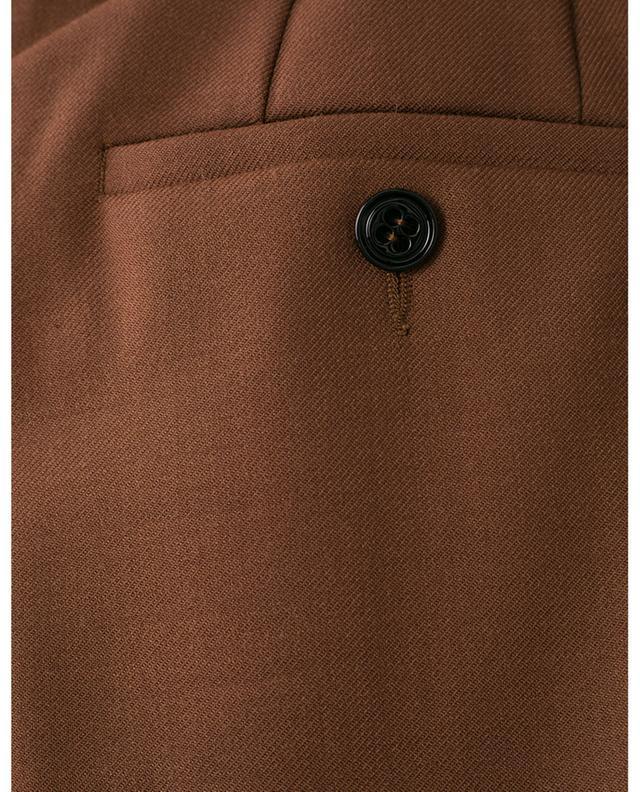 Verkürzte Anzughose aus Wollmix mit Bundfalten THE NEW AMBITION DOROTHEE SCHUMACHER