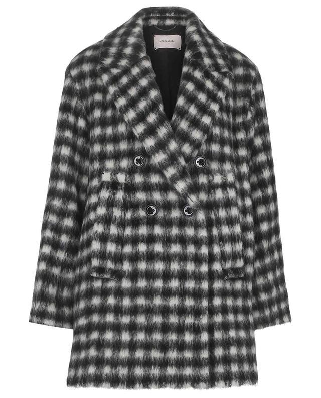 Karierter Mantel aus Alpaka und Schurwolle Luxury Check DOROTHEE SCHUMACHER