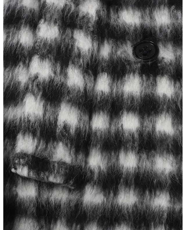Manteau en alpaga et laine vierge à carreaux Luxury Check DOROTHEE SCHUMACHER