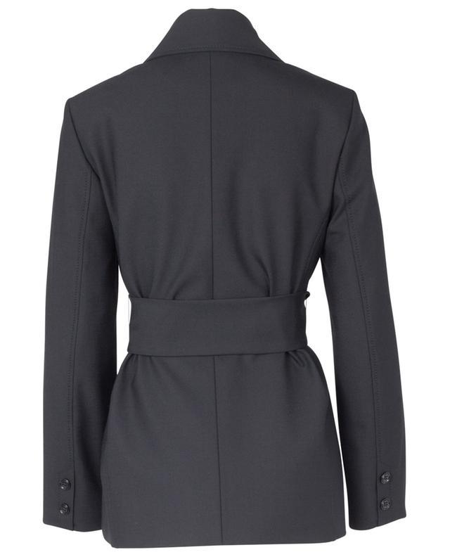 The new ambition jacket Belted wool-blend jacket DOROTHEE SCHUMACHER