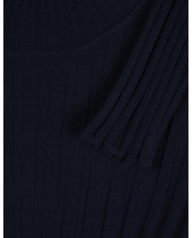 Pull chaussette côtelé ultrafin en laine mérinos BONGENIE GRIEDER