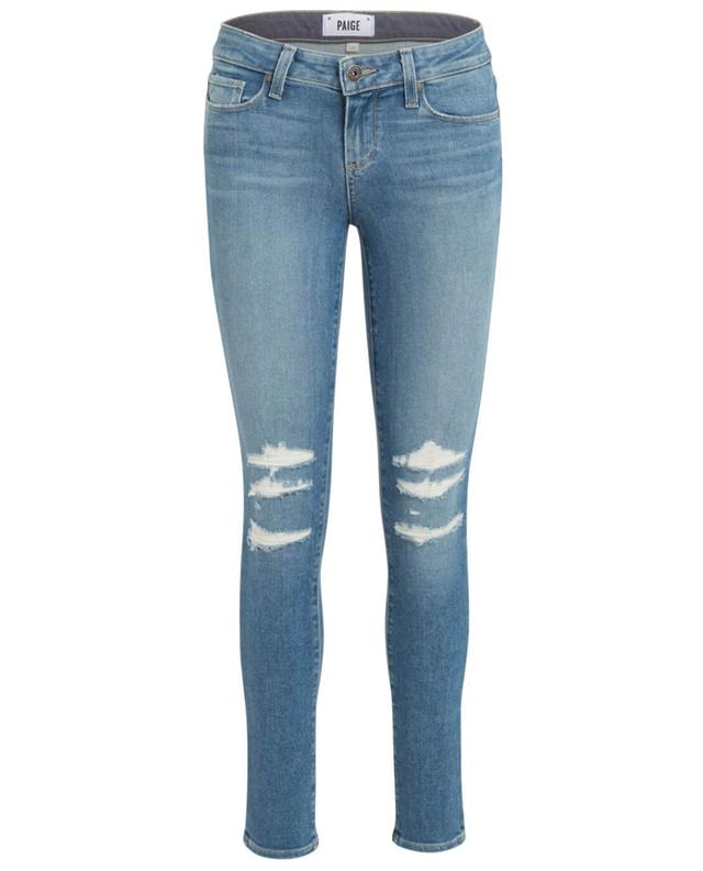 Skinny-Fit Used-Look Jeans PAIGE