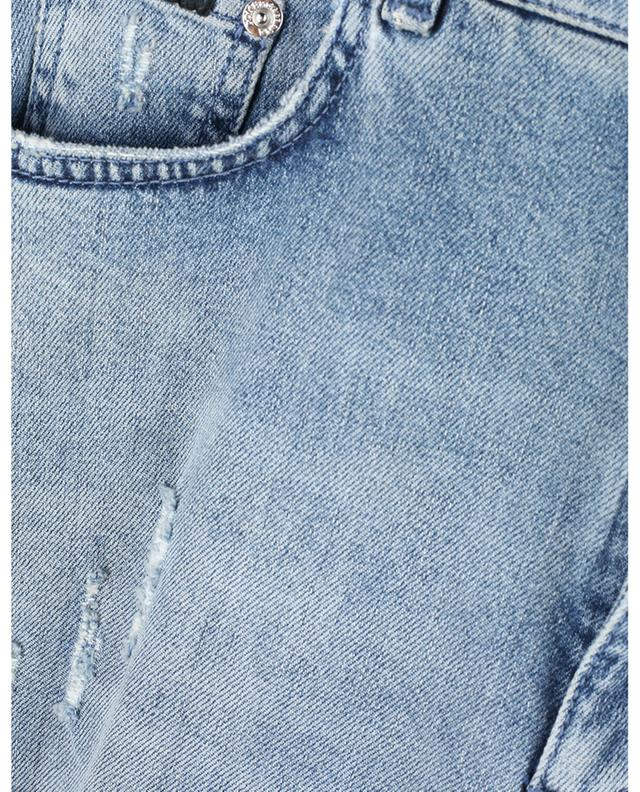 Cotton-blend distressed boyfriend jeans DOLCE & GABBANA