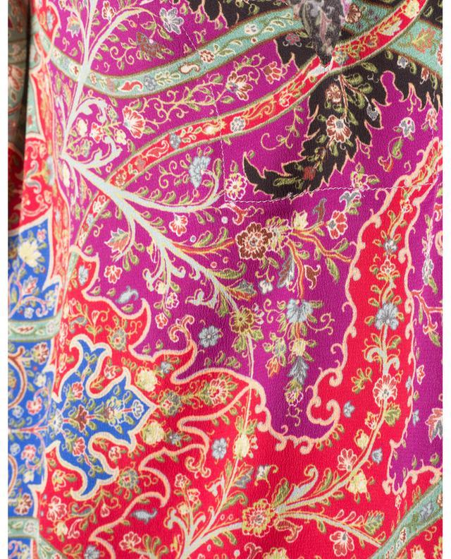 Caftan en soie imprimée patchwork ETRO