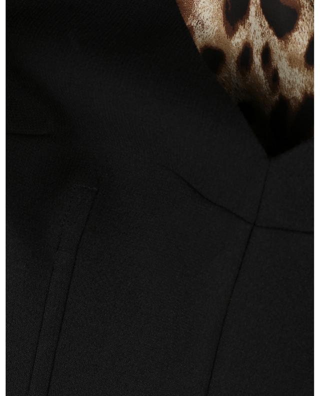 Mid-length wool sheath dress DOLCE & GABBANA