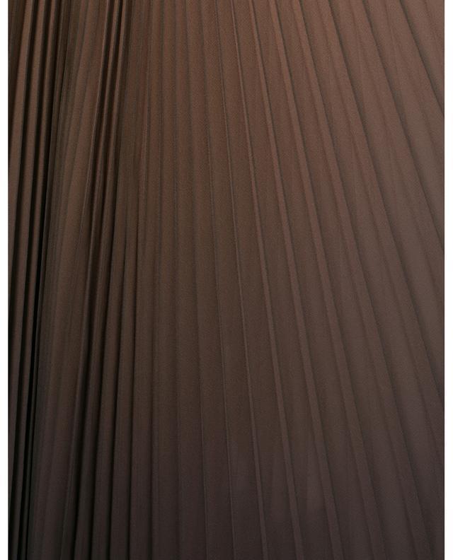 Jupe plissée avec dégradé de couleurs DOLCE & GABBANA