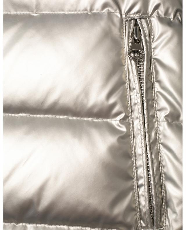 Gilet matelassé réversible en tissu technique et fourrure YVES SALOMON