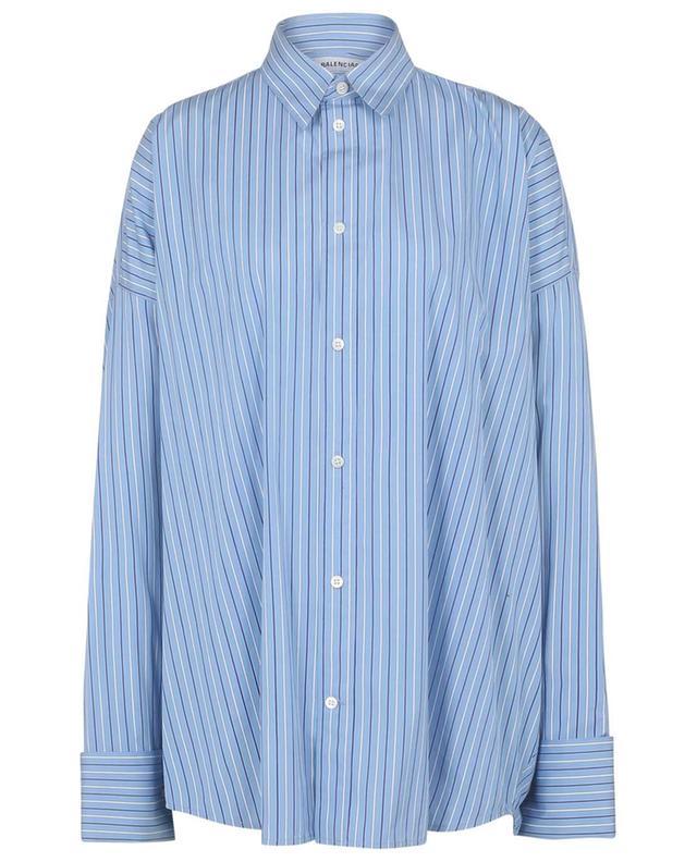 Chemise oversize rayée Tuxedo Cuff Shirt BALENCIAGA