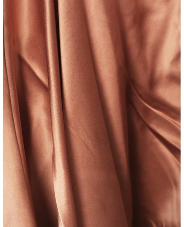 Minirobe en satin de soie Silk Wrap Mini ZIMMERMANN