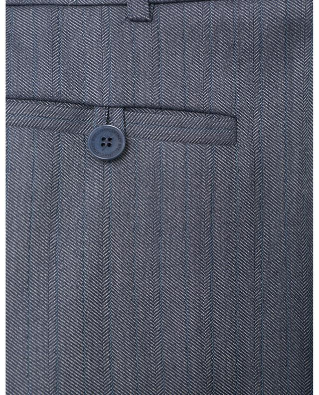 Wool-blend cropped cigarette trousers STELLA MCCARTNEY