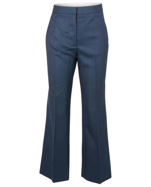 Pantalon droit raccourci en laine texturé pois Carlie STELLA MCCARTNEY