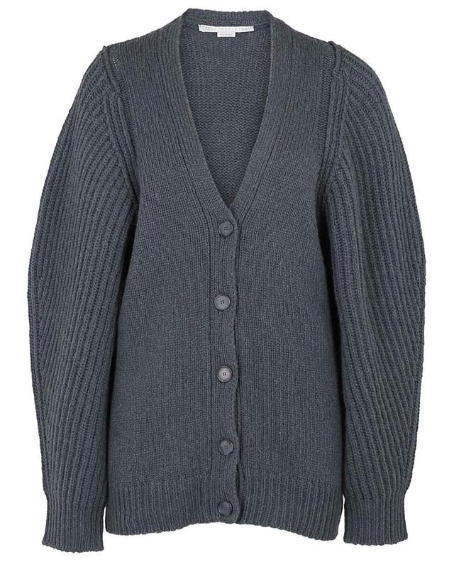 Cardigan tricot en poils de chameau STELLA MCCARTNEY