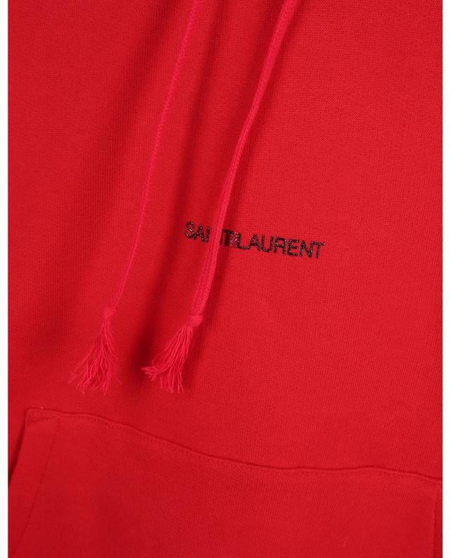 Sweat-shirt à capuche imprimé Saint Laurent Logo SAINT LAURENT PARIS