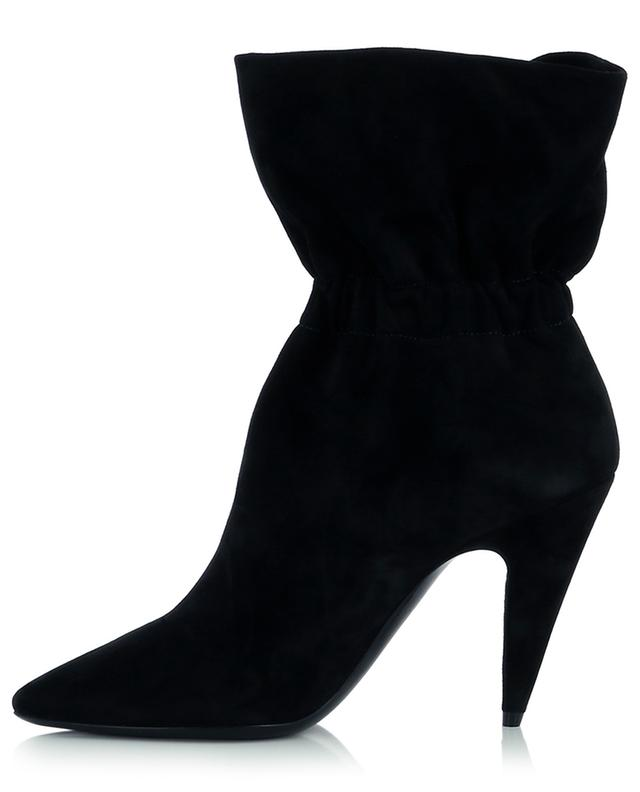 Etienne 95 slouchy suede ankle boots with heels SAINT LAURENT PARIS
