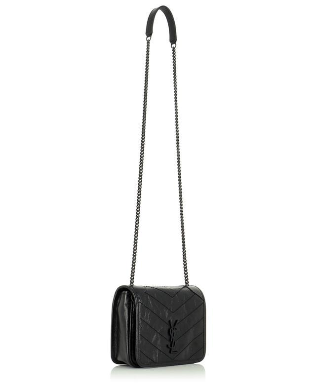 Petit sac en cuir vintage froissé Niki SAINT LAURENT PARIS