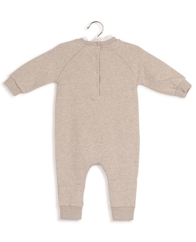 Combinaison bébé en molleton et dentelle Adam BONTON