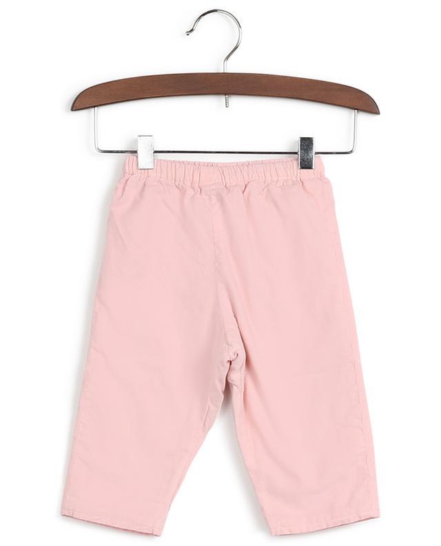 Pantalon en coton avec taille élastique Brioche BONTON