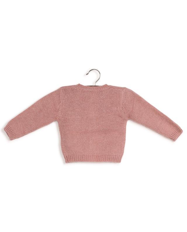 Cardigan bébé boutonné en laine et lurex BONTON