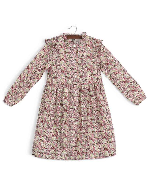 Robe chemise en coton fleuri Slow Dora BONTON