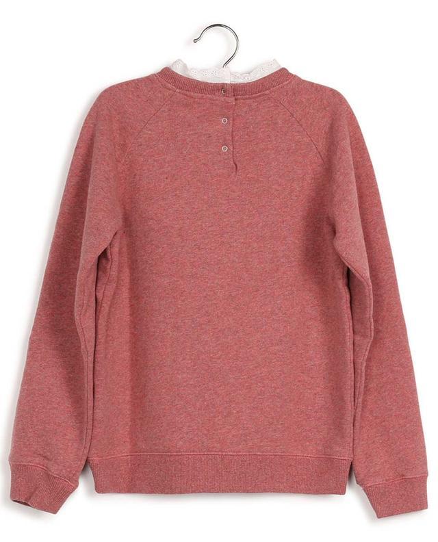 Sweat-shirt embelli de dentelle Tilia BONTON