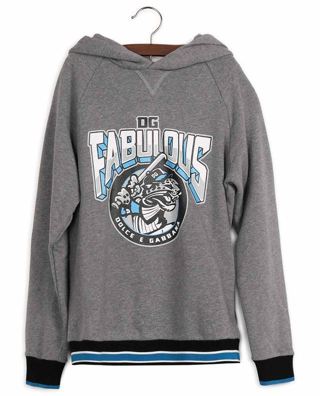 Sweatshirt aus Baumwolle mit DG-Fabulous-Print DOLCE & GABBANA